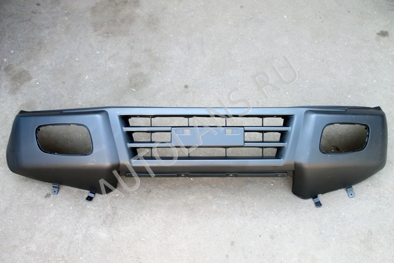 Передний бампер на паджеро